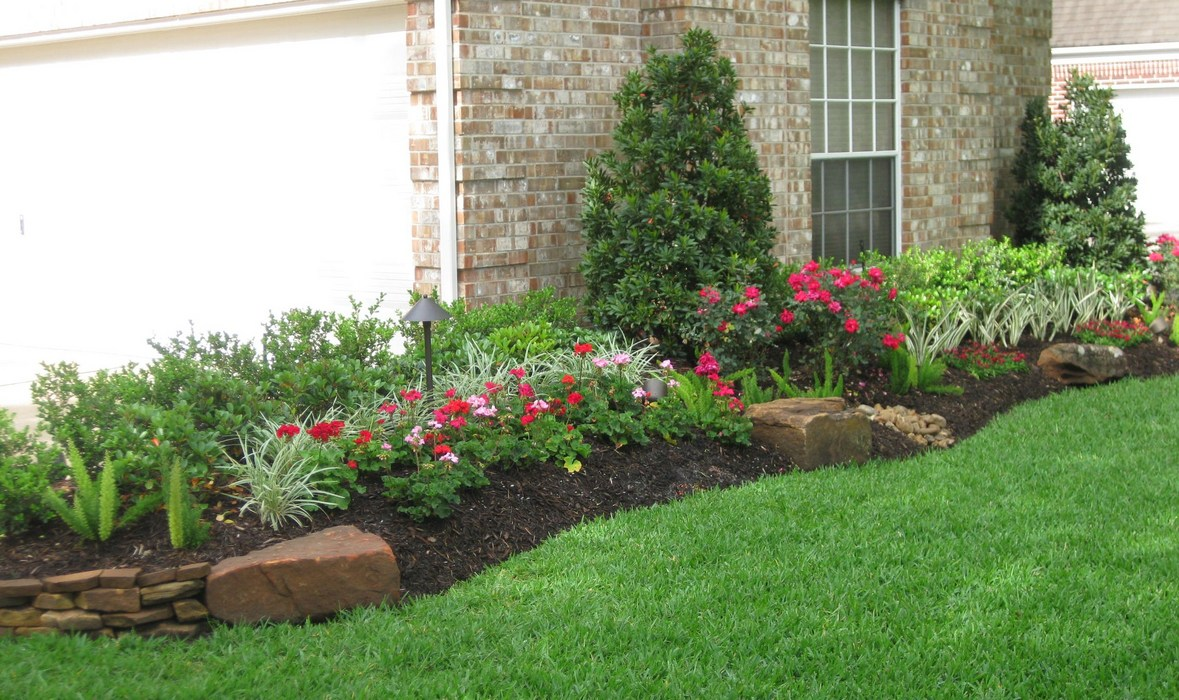 Paver walkways for Garden design houston